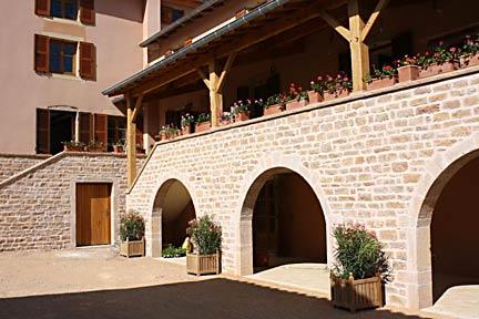 La Roche Courtyard